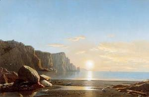 William Bradford - Sunset, The Coast of Labradore