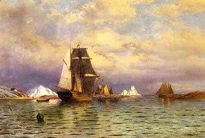 William Bradford - Looking out of Battle Harbor