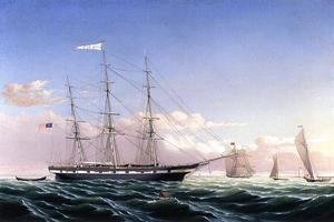 Whaleship 'Jireh Swift' of New Bedford