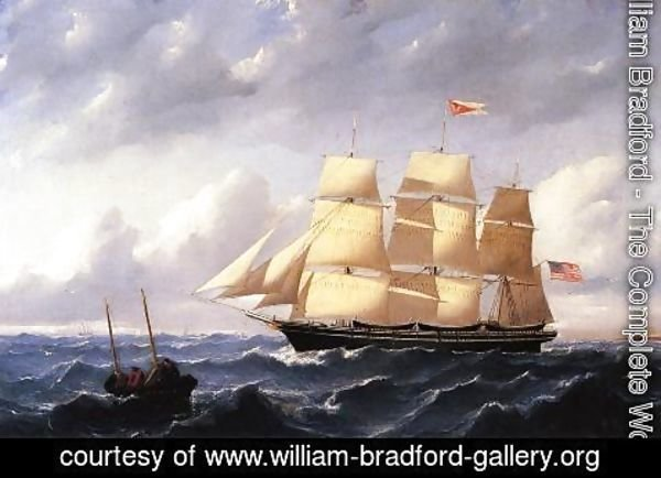 William Bradford - Whaleship 'Twilight' of New Bedford