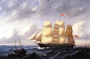 Whaleship 'Twilight' of New Bedford