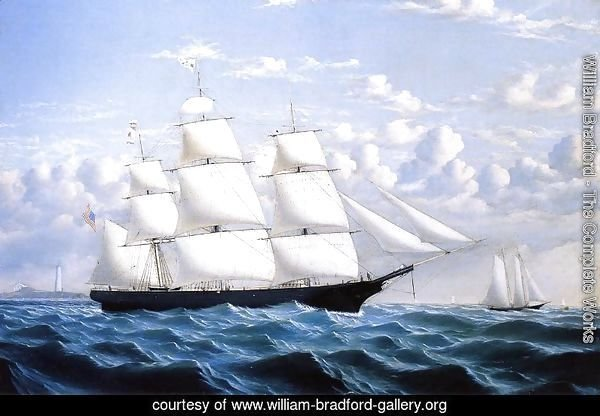 Clipper Ship 'Northern Light' of Boston