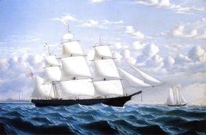 William Bradford - Clipper Ship 'Northern Light' of Boston