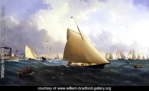 New York Yacht Club Regatta off New Bedford