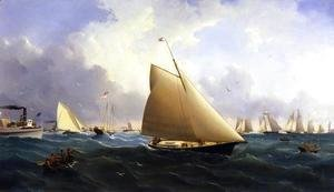 William Bradford - New York Yacht Club Regatta off New Bedford