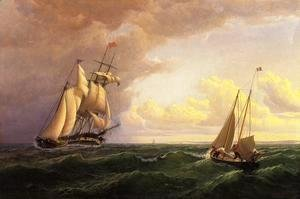William Bradford - Whaler off the Vineyard - Outward Bound