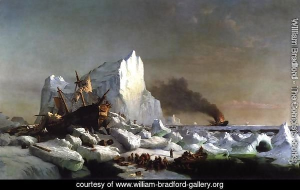 Sealers Crushed by Icebergs