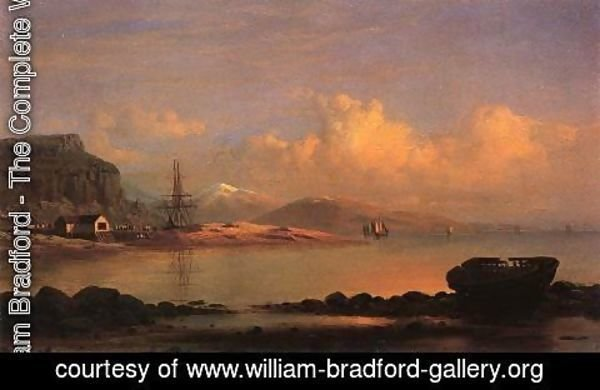 William Bradford - Coast of Labrador