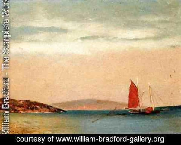 William Bradford - Seascape