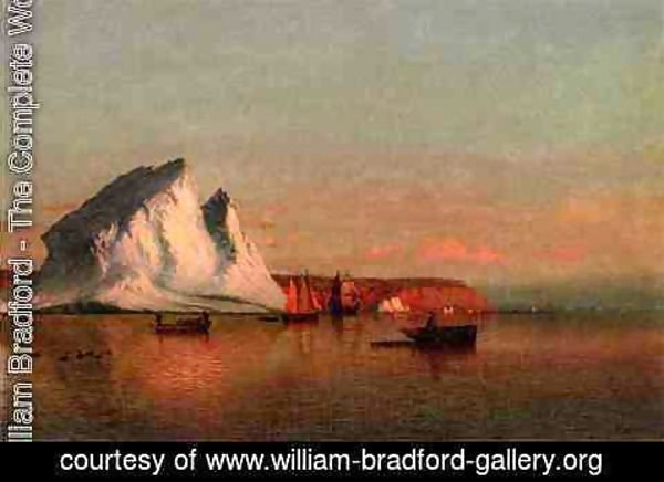 William Bradford - A Calm Afternoon, the Coast of Labrador