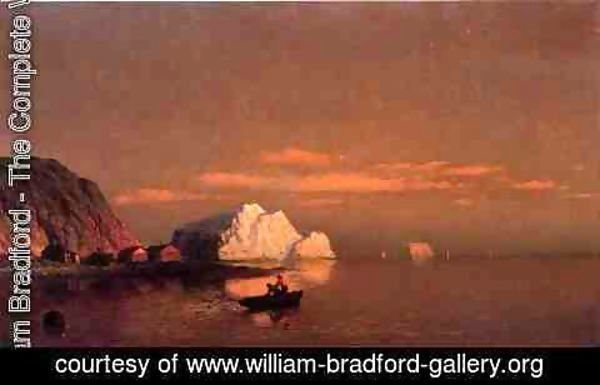 William Bradford - Fishermen off the Coast of Labrador II