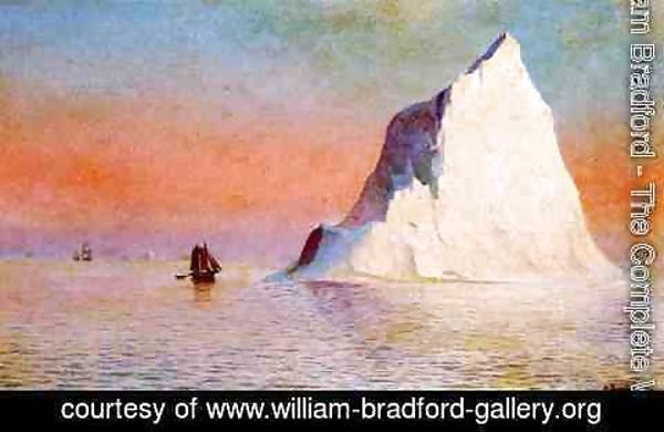 William Bradford - Icebergs II