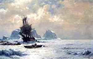 William Bradford - Caught in the Ice