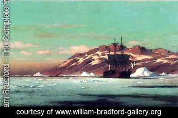 William Bradford - Artic Scene