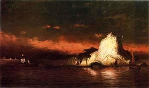 William Bradford - Perce Rock, Belle Isle Straits