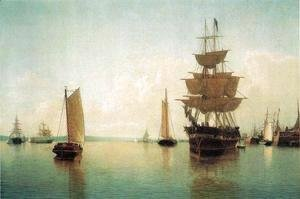 William Bradford - East River Off Lowr Manhattan