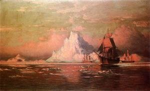 William Bradford - Whalers After the Nip in Melville Bay