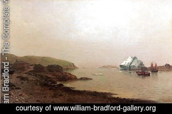 William Bradford - The Labrador Coast
