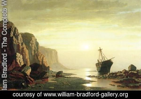 William Bradford - The Coast of Labrador II