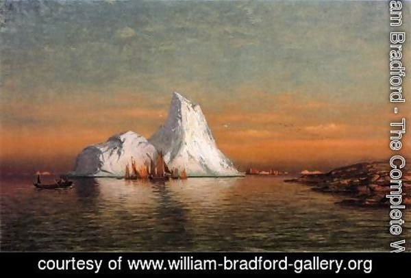 William Bradford - Fishing Fleet off Labrador I