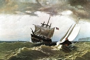 William Bradford - After the Storm
