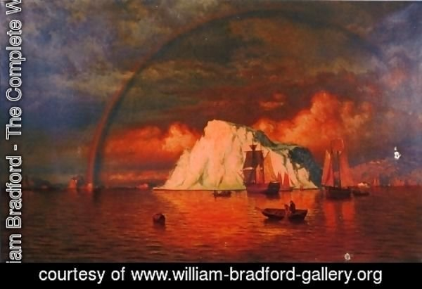 William Bradford - Midnight Sun