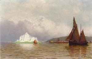 William Bradford - Labrador Fishing Settlement