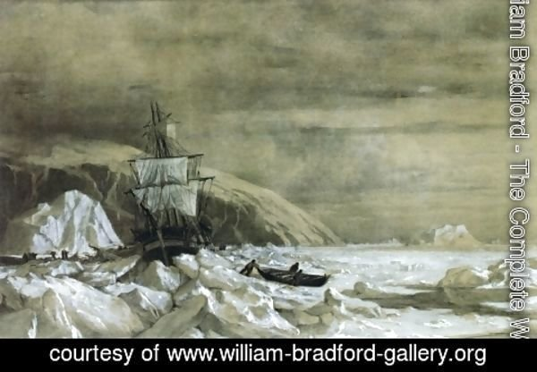 William Bradford - Locked In - Baffin Bay