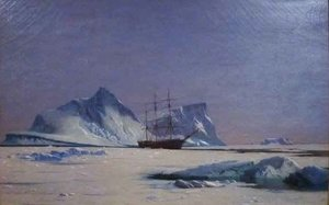 William Bradford - Scene in the Artic