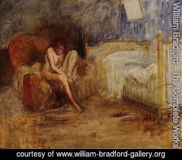 William Bradford - Getting out of Bed