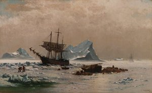 William Bradford - Among the Ice Floes