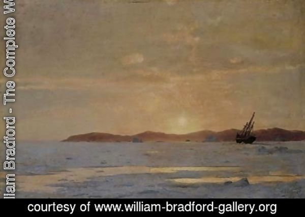 William Bradford - Coastal Sunset
