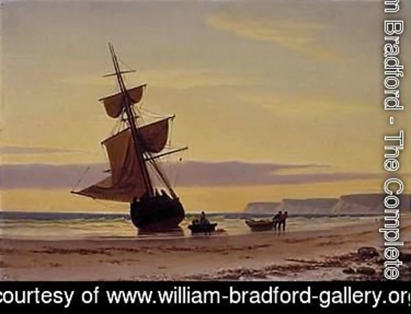 William Bradford - Coastal scene 2