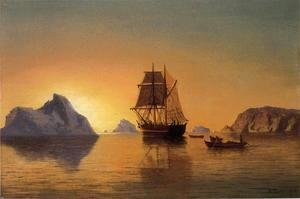 William Bradford - An Arctic Scene