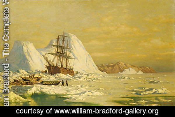 William Bradford - An Incident Of Whaling