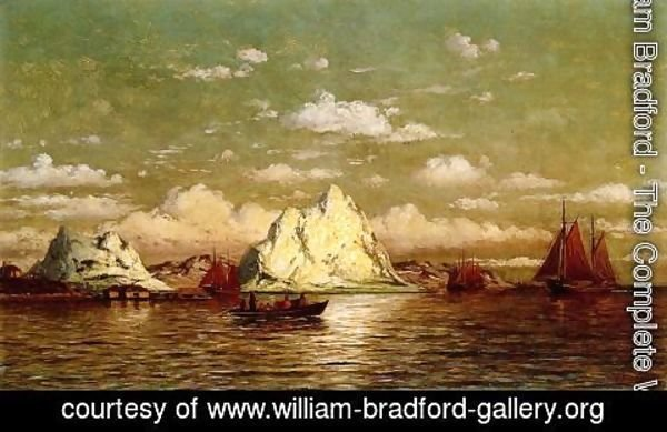 William Bradford - Arctic Harbor