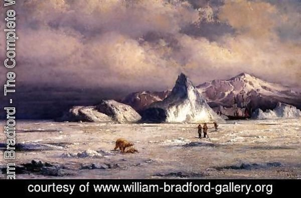 William Bradford - Arctic Invaders