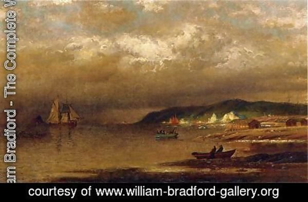 William Bradford - Coast Of Newfoundland