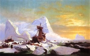 William Bradford - Crushed In The Ice