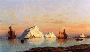 William Bradford - Fishermen Off The Coast Of Labrador