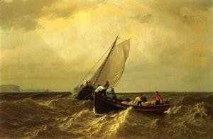 William Bradford - Fishing Boats On The Bay Of Fundy