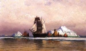 William Bradford - Fishing Fleet Off Labrador2