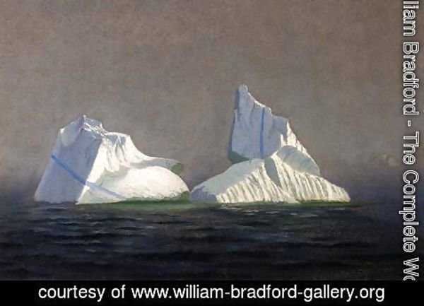William Bradford - Icebergs