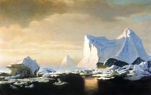 Icebergs In The Arctic