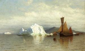William Bradford - Labrador Fishing Boats Near Cape Charles