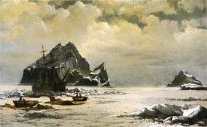 William Bradford - Morning On The Artic Ice Fields